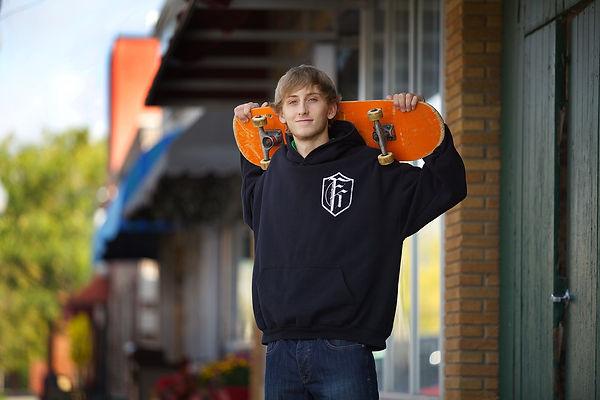 Skateboard Senior Photo