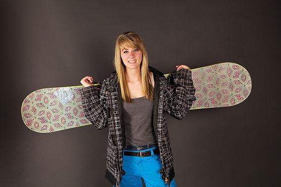 Snowboard Portrait