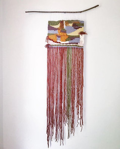 Native Woven Wall Hanging
