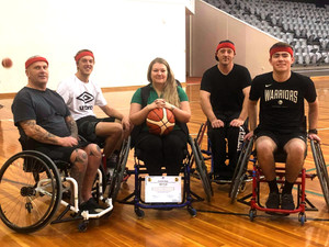 Second Annual Corporate Wheelchair Basketball Competition!