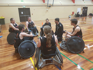 Wheelchair Rugby, Otago is Back on the Court.