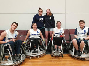 Otago Wheelchair Rugby Team