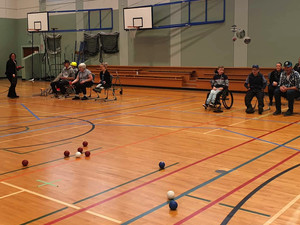 Our first ever Boccia Teams Competition!