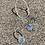 Thumbnail: TAMARA STEINBORN 'Irkin' Sterling Silver Earrings TSE08