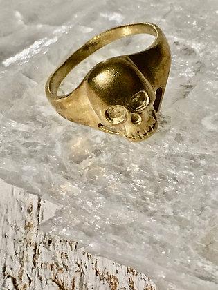 TAMARA STEINBORN 'Zephon' Bronze or Sterling Skull Ring