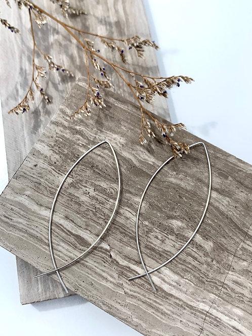 >>> Zora - Silverplate or Goodplate Wire Earrings <<<
