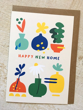 Happy New Home 🏡 Greeting Card CR60