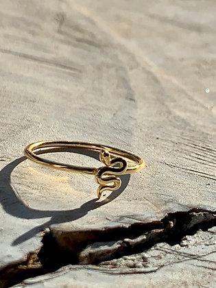 KINDRED 14k Gold Fill Snake Ring KR14