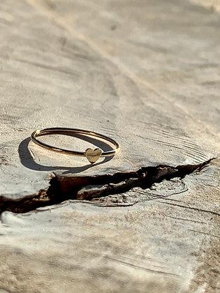 KINDRED 14k Gold Fill Mini Heart Ring KR11