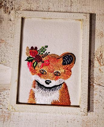 Handmade gifts made in India embroidery fox chikankari ottawa