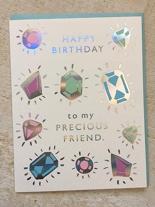 Happy Birthday 🎂 to My Precious Friend Card CR58