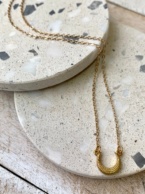 Simple Crescent Necklace FNA03
