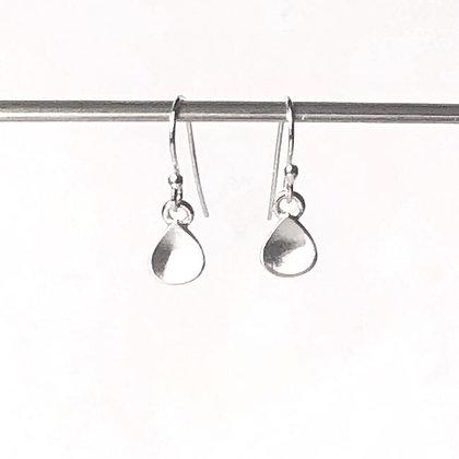 REBEL SOUL - Tiny Water Drop dangle earrings