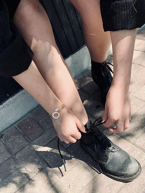 Pearl Loop Bracelet FBA18