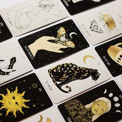Tarot cards unique deck made in Canada gift ideas esoteric hintonburg