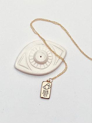 TAMARA STEINBORN CASSANDRA ~ Eye with Rays Necklace in Bronze or Sterling C$58.0