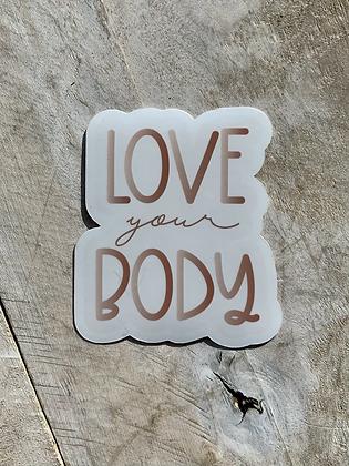 KATUSHA CO. 'Body Love' (sticker) PG12