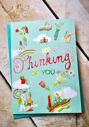 Thinking of You. Wishing You Brighter card