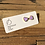 Thumbnail: MOONLIGHT FOR VIOLET 'Mauve' Heart Earrings MVH02