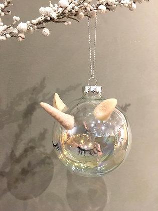 Unicorn 🦄 Ball ornament