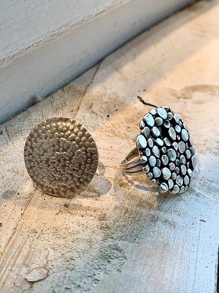 SERAGLIO Pebble Cluster Ring SGR30