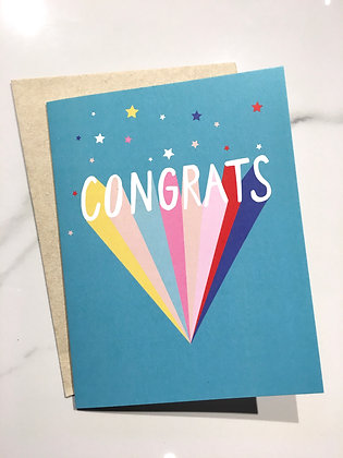 Me to We Congratulations greeting card