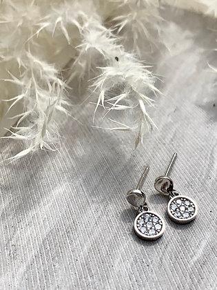 STERLING & Cubic Zirconia Earrings