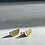 Thumbnail: SOUVENIR 'Semicircle' Brass Earrings SVE14