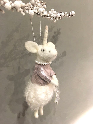 Unicorn tree decoration ornament cute gift idea Ottawa Wellington
