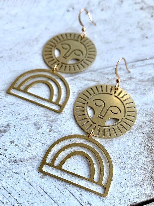 Celestial Earrings +Arc FEA25