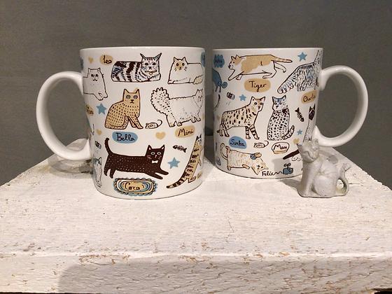 Cat Names Mug