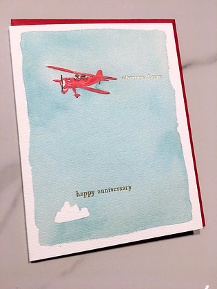Happy Anniversary-Adventures Forever greeting card