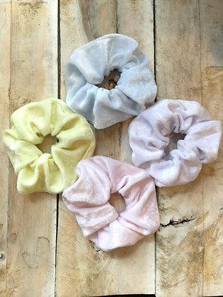shop hand made velvet scrunchies in Ottawa ON Wellington West