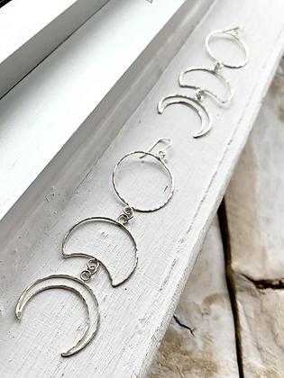 TAMARA STEINBORN 'Lucretia' Sterling Silver Earrings TSE09