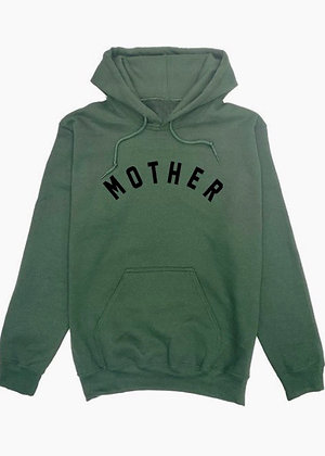 Mother hoodie - green SW05
