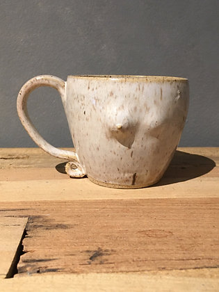 MOSELLE Mastectomy Speckled Breasts Mug BOOB11 (does not ship)