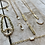 Thumbnail: Pearl Loop Bracelet FBA18