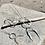 Thumbnail: TAMARA STEINBORN 'Fernweh'  Sterling Silver Necklace TSN81