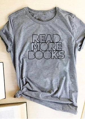 Read More T-shirt - Grey TS06