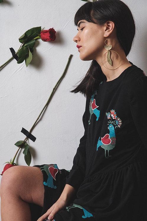 >>>Adanna - Hammered Brass Earrings<<<