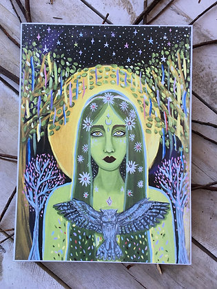 JULIANA LACHANCE Goddess Print
