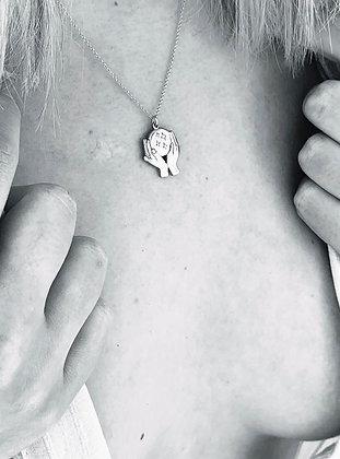 TAMARA STEINBORN 'Kismet' sterling necklace