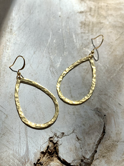 Three Hammered Earrings Series FEA52SET