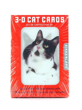 3D Cat Cards HG06
