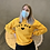 Thumbnail: 'Cat Mom' Sweatshirt -  Orange SW21