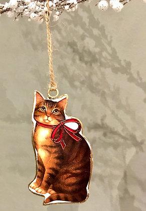 Cat tree ornament ottawa cute Christmas Xmas kitty