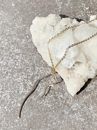 TAMARA STEINBORN 'Echo' Bronze or Sterling Necklace
