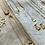 Thumbnail: Tiny Crescent Moon Necklace + Earring Set FNA71SET