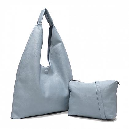Reversible Hobo Bag w/ Detachable Inner Purse