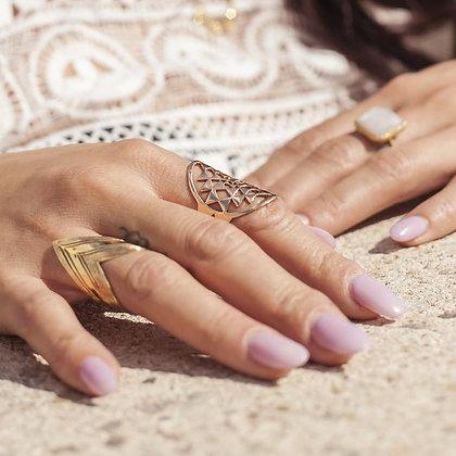 SARASWATI 'Artemis Brass' Ring SWR01